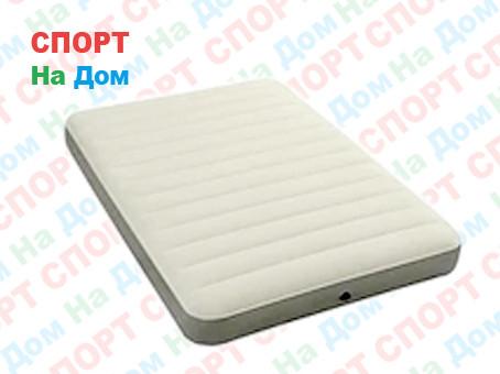 Надувной матрас Intex 64702 Белый (Габариты: 137 х 191 х 25 см)