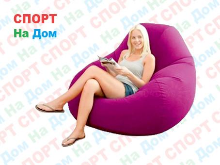 Надувное кресло Intex 68584 (Бордовый)