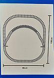 Конструктор аналог Лего LEGO City Электромеханический Zhe Gao Rail Transit QL0313 классический поезд 1464 дета, фото 5