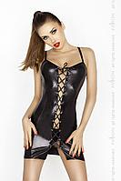 BELLATRIX CHEMISE black S/M - Passion