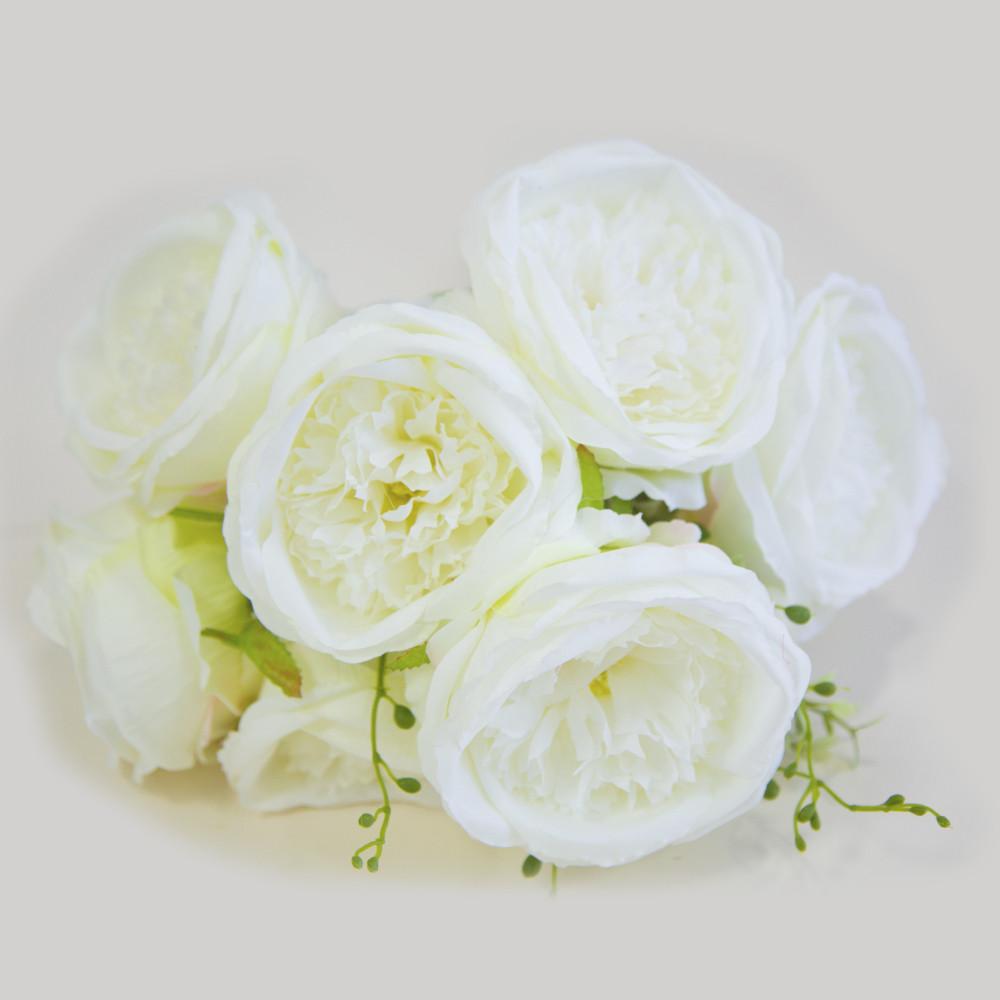 """Искусственный букет """"Пион"""" 9 цветков (10см * 50см)"""