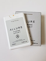 Парфюм-планшет Chanel Allure homme Sport, 20 ml