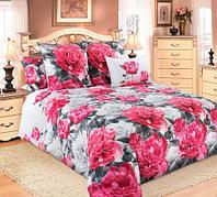 Комплект постельного белья из бязи «Пионы» Текс Дизайн