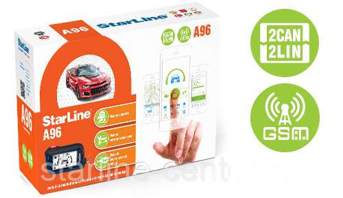 StarLine A96 2CAN+2LIN GSM-GPS