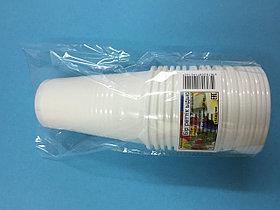 Стакан одноразовый белый 200 гр. 20 шт/уп Sherdin