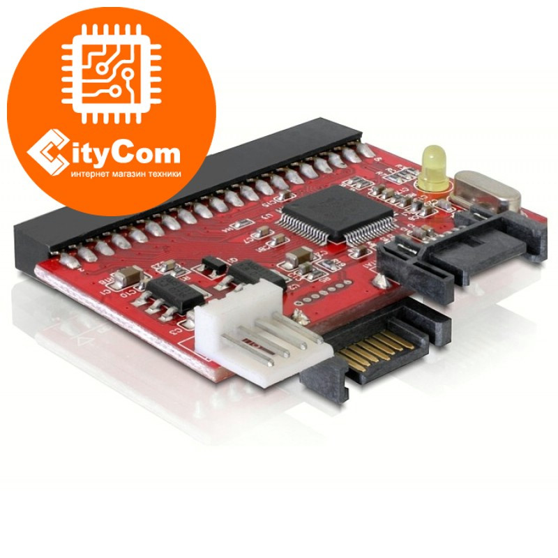 Двунаправленный конвертер (адаптер) IDE-SATA & SATA-IDE. Переходник.