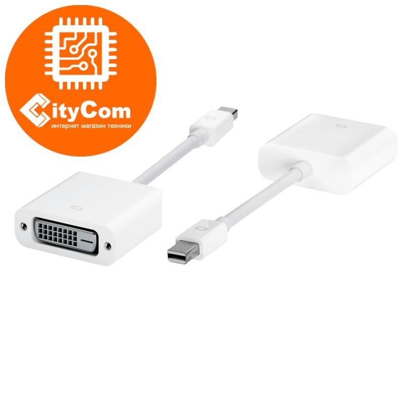 Переходник (адаптер) с разъема Mini DisplayPort на DVI, Mini Dp - DVI, для ноутбуков.. Конвертер.