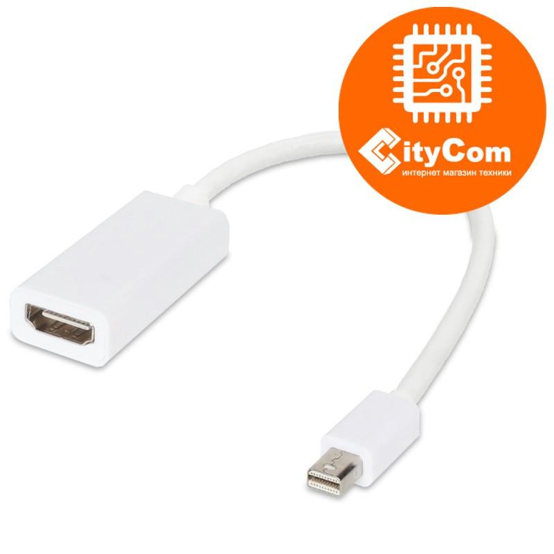 Переходник с разъема Mini DisplayPort на HDMI, Mini Dp - HDMI, для ноутбуков Apple