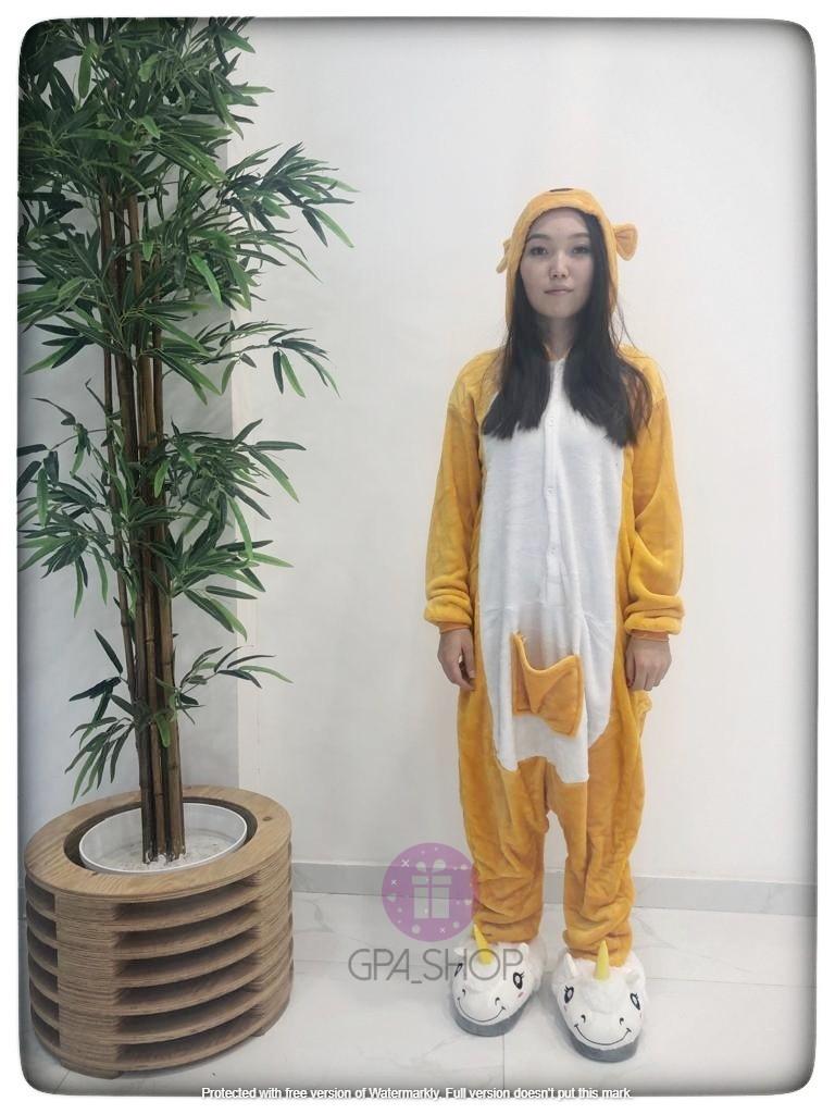 Пижама кигуруми кенгуру