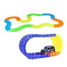 Детская игрушечная дорога Magic Tracks 165 деталей + машинка + Подарок, фото 2