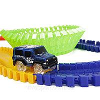 Детская игрушечная дорога Magic Tracks 165 деталей + машинка + Подарок