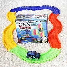 Детская игрушечная дорога Magic Tracks 165 деталей + машинка + Подарок, фото 3