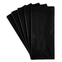 Упаковочная бумага Тишью черная