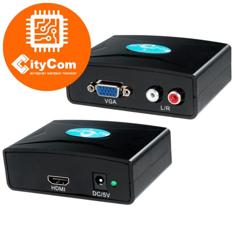 Конвертер VGA - HDMI + sound