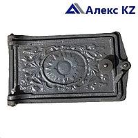 Дверца на печь  маленькая (13,5 см*24,5 см)
