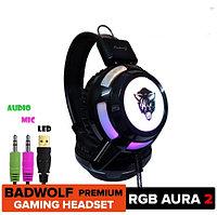 Игровые наушники V8RGB Cool Light с микрофоном и подсветкой, фото 1