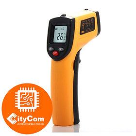 НЕ медицинский пирометр. Строительный инфракрасный измеритель температуры Benetech GM550 до 550°С