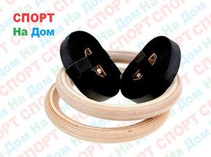 Гимнастические кольца для кроссфита (фанера) доставка, фото 2