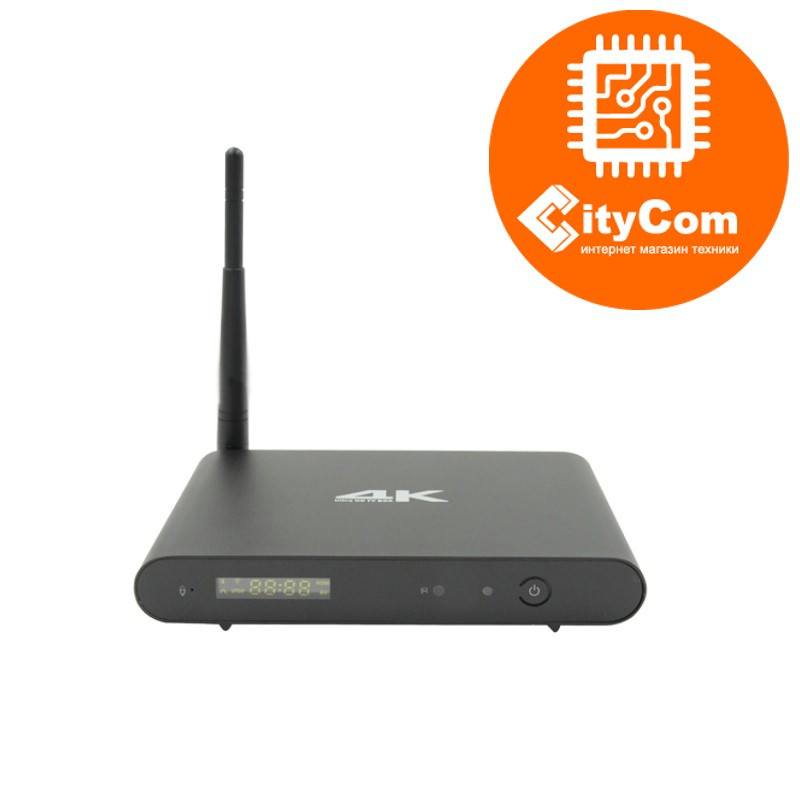 Приставка Android TV box к телевизору, ОС Андроид ТВ  Mini PC OTT 4K