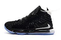 "Игровые кроссовки Nike LeBron XVII (17) ""Black/Silver"" (36-46), фото 2"