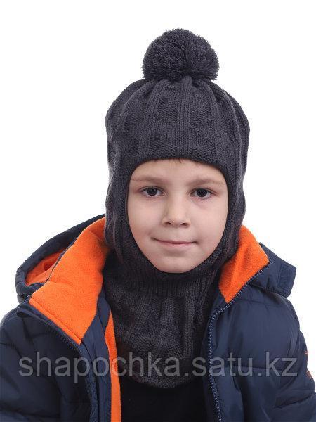 Шапка Шлем 57 grans мальч  однот бубон