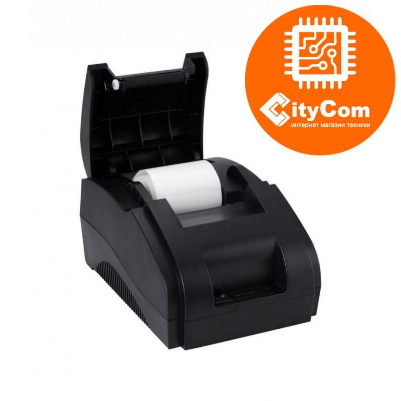 Принтер чеков Xprinter XP-58IIH, 58mm, USB POS термопринтер чековый для магазинов, бутиков, кафе и д