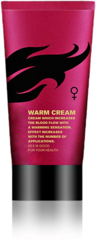 Возбуждающий крем для женщин Warm cream (Viamax), 50 мл