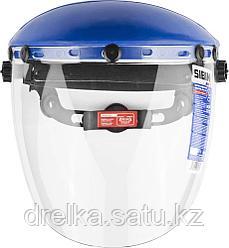 Щиток защитный лицевой СИБИН с экраном из поликарбоната, храповый механизм