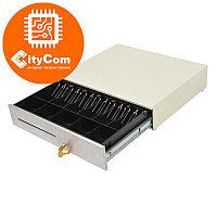 Денежный ящик для купюр и монет MERCURY CD-490 cash drawer (бежевый) Кассовый ящик. Автоматический.
