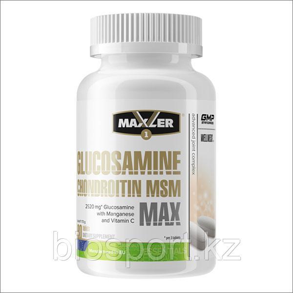 Maxler Glucosamine Chondroitin MSM MAX, 90 таб.