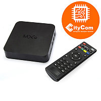 Приставка Android TV box к телевизору, ОС Андроид ТВ Mini PC MX-Q 4K