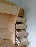 Двухъярусная кровать со шкафом, фото 2