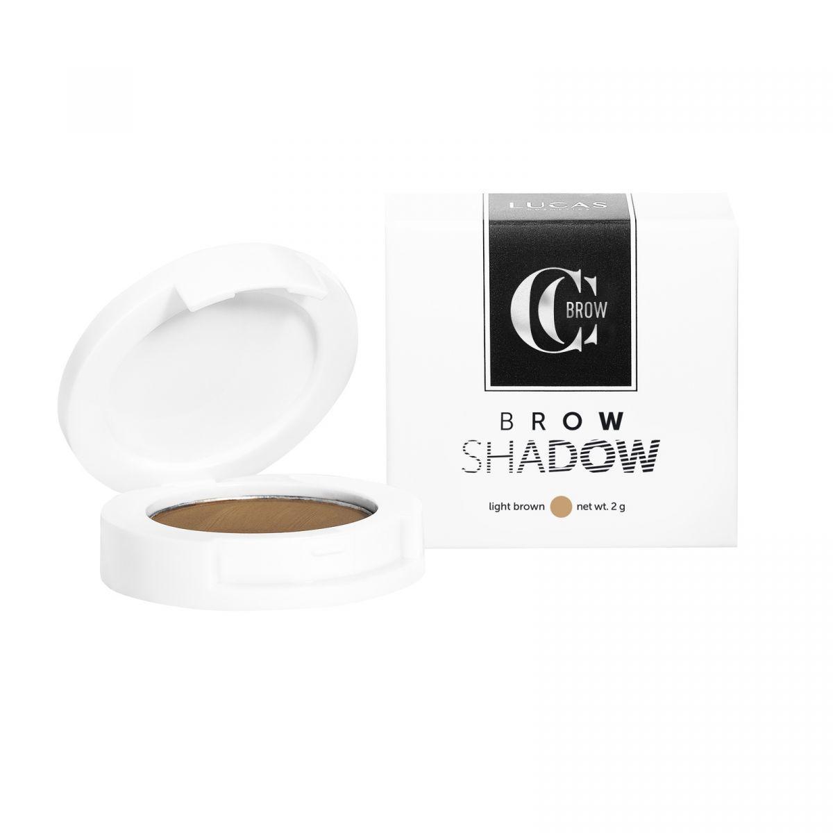 Тени для бровей Brow Shadow by CC Brow (Темно-коричневый)