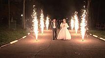 Холодные сценические фонтаны (фейерверки) на свадьбу., фото 3