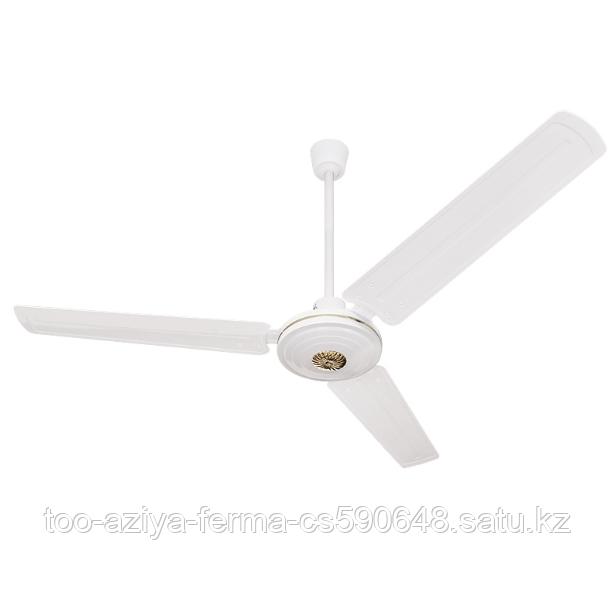 Вентилятор потолочный с металлическими лопастями  1200 см