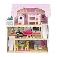 Кукольный дом с мебелью (70см) EF4110 (Edufun, Великобритания)