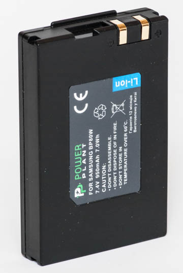 Аккумулятор PowerPlant Samsung IA-BP80W 950mAh