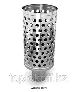 Каменка натрубная ДИЗЕЛЬ, ф115, 1,0мм/0,5мм, нерж/нерж