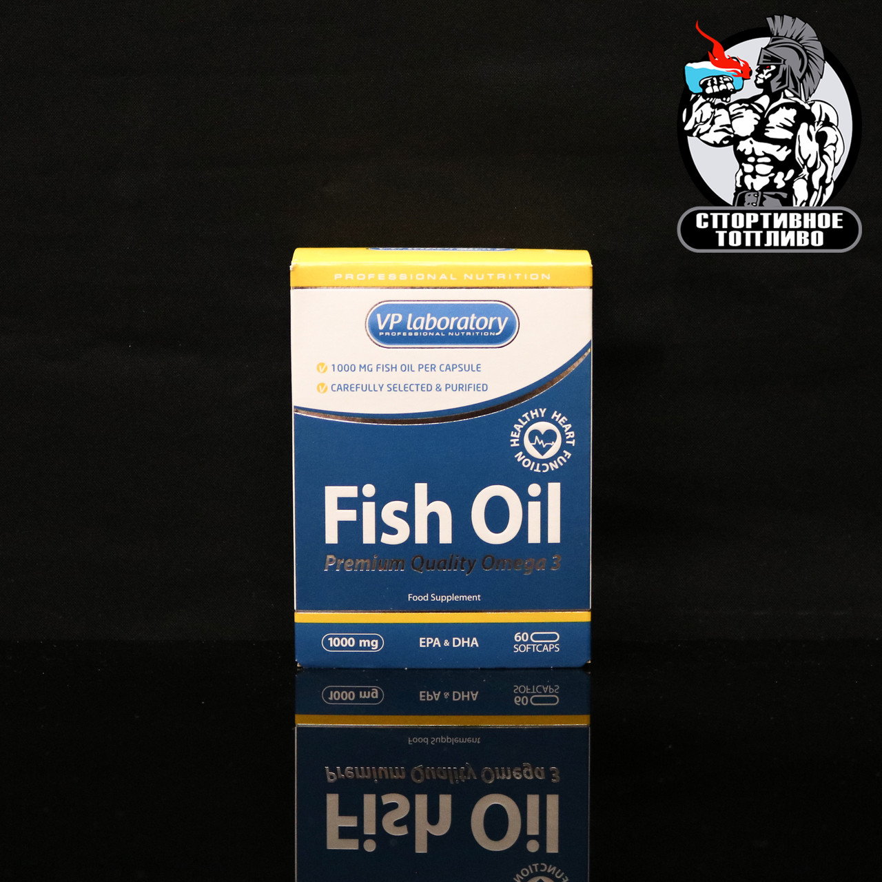 VPLab - Fish Oil 60капс/30 порций
