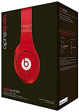 Наушники Monster Beats by Dr. Dre Studio Red, фото 3