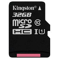 Карта памяти MicroSD 32GB Class 10 U1 Kingston SDCS/32GBSP