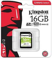 Карта памяти SD 16GB Class 10 U1 Kingston SDS/16GB