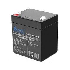 Батарея аккумуляторная SVC, AV4.5-12 12В 4.5 Ач