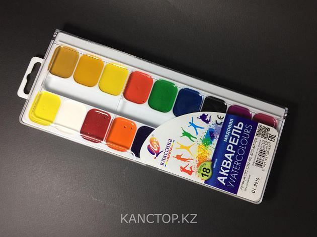 Краски акварельные Луч, 18 цветов, фото 2