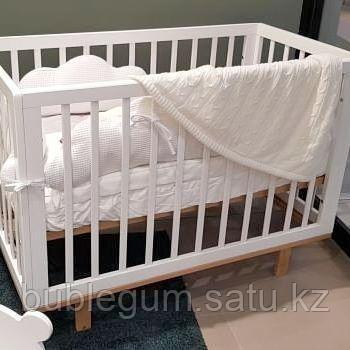 Кроватка детская Happy Baby MIRRA белая