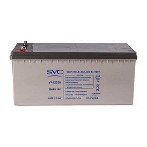 Батарея SVC свинцово-кислотная VP12200 12В 200 Ач, фото 2