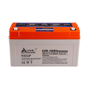 Батарея SVC GLD12120 гелевая 12В 120 Ач LED-дисплей, фото 2