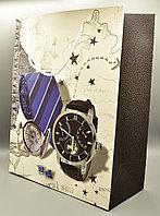 Пакет подарочный, картон, 26*32*12 см