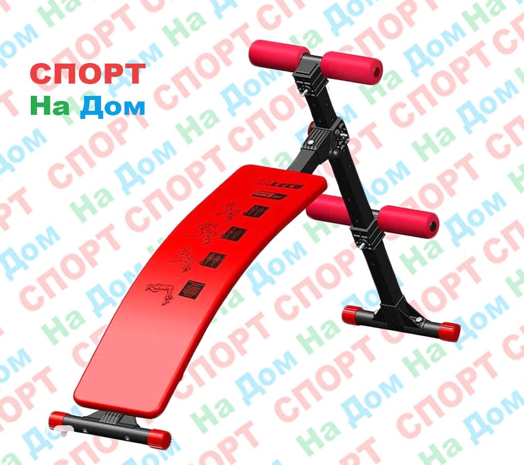 Скамья для пресса изогнутая Leco-IT Home до 120 кг. (Россия) доставка