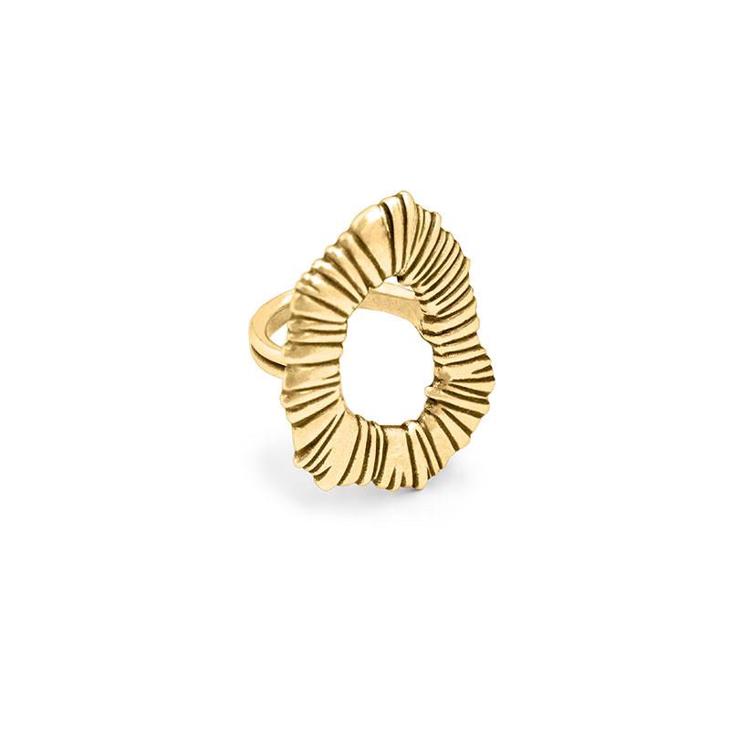 Кольцо / Botanic ( ORO 539- металл )размер 18-18,5